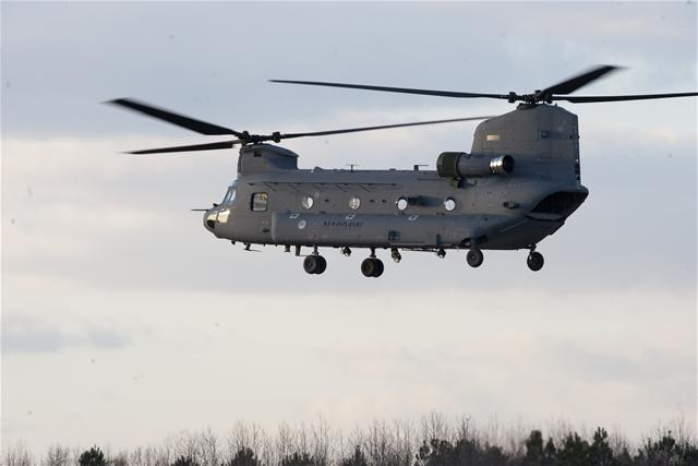 CH 47F first flight 25012011